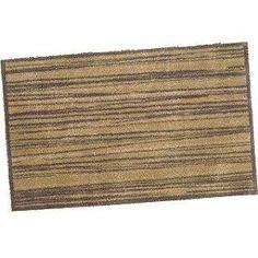 Zebrano Wood Turtle mat cotton design 75 X 120cm: Amazon.co.uk: Kitchen & Home