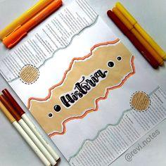 Bullet Journal School, Bullet Journal Cover Ideas, Bullet Journal Notes, Book Journal, Decorate Notebook, Diy Notebook, Notebook Covers, Cute Notes, Pretty Notes