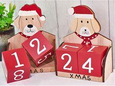 Adventskalender 2018 Holz Adventskalender  #advent #adventskalender #kalender #dezember #weihnachten #doityourself #diy #christmas #xmas #kalenderselbstgemacht #24.12 #heiligabend #heilig #abend #schnee #winter #kalt #väterchenfrost #weihnachtsmann #santaclaus #santa Countdown, Calendar, Holiday Decor, Winter, Diy, Santa Clause, December, Cold, Snow