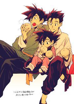 Goku & Gohan & Goten