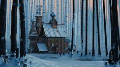 Via Designwrld Tbilisi, Georgia-based freelance artist Sandro Tatinashvili has created a series of ambient animations depicting beautiful scenes and magical environments. Sandro, Illustrations, Illustration Art, Affinity Photo, Gifs, Animation, Matte Painting, Environment Concept Art, Motion Design