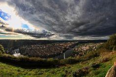 #Cahors vue depuis le mont Saint-Cyr #panorama