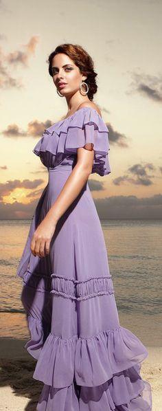 .  Purple Dress #2dayslook #PurpleDress #kelly751   #anoukblokker  www.2dayslook.com