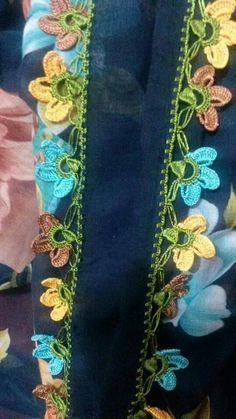 HUZUR SOKAĞI (Yaşamaya Değer Hobiler) Cotton Crochet, Floral Tie, Projects To Try, Lace, Tejidos, Hipster Stuff