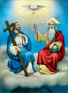 Blessed be the Holy Trinity and undivided Unity: we will give glory to Him…
