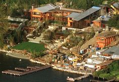 bill gates house - Google Search