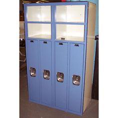 List Industries Superior 4 Door Lockers Metal Kids School Gym Work Storage Shelf