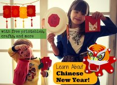 Chinese New Year Unit Study, crafts, printables