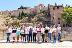 #WWIM14Málaga La Alcazaba y Teatro Romano. Málaga. España.