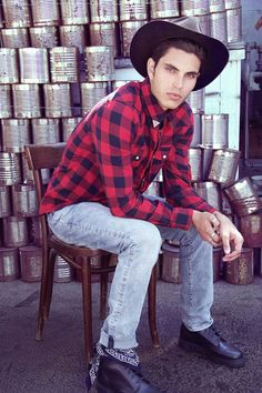 Samuel Larsen by Johnny Diaz Nicolaidis for Fashionisto Exclusive