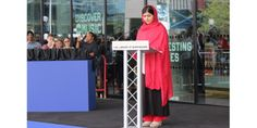 """At the 2013 Fourth Estate Summit, Ambassador Samantha Power stated in her speech that there is one name that will """"forever be synonymous with dignity and Malala Yousafzai Speech, Invisible Children, Global Village, City Council, Birmingham, Something To Do, No Response, Shit Happens, Libraries"""