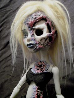 Check out the finished doll---> Transforming a Monster High CAM Witch into the Faun from Pan's Labyrinth. The first shot is the actual body modification underneath the sculpting, the other three...