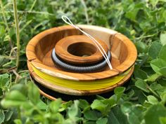 This is the most interesting and innovative line spool I've seen. Read the story to find out why. Fly Fishing Gear, Fishing Guide, Moving To Colorado, Metal Spring, Fishing Pictures, Rare Earth Magnets, Fly Rods, Old World Charm, Fly Tying