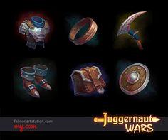 ArtStation - Props, Armor, Weapon, Julia Titova