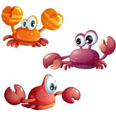 Ces 3 petits crabes sont extrêmement curieux. Ils n'arrêtent pas de suivre Atalante la grande baleine dans ses balades sous-marines. Très colorés, ces stickers muraux sur le thème de la mer ajouteront une touche d'humour aux murs de votre enfant. On les aime également beaucoup sur les carreaux de la salle de bain ! Ces adhésifs sur le thème de la mer existent en 3 formats.