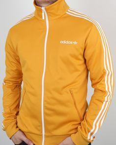 1339f9dac826 Adidas Originals Beckenbauer Track Top old skool Yellow Adidas Originals  Looks