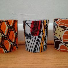 Wedding Tealight Holders set of 20 African by DetolaAndGeek African Theme, African Art, Votive Candle Holders, Votive Candles, Traditional Decor, Traditional Wedding, African Accessories, Baby Shower Party Favors, Different Patterns