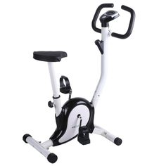 Ancheer Upright Exercise Bike 6 Level Magnetic Tension Adjustable Indoor Cycle Trainer with LCD Display *** You can get more details here : Weightloss Cardio