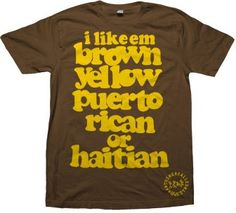 A Tribe Called Quest - Brown, Yellow, Puerto Rican or Haitian
