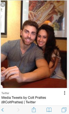 Colt Prattes & his wife // the gorgeous people