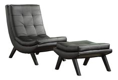 Looking for AVE SIX Tustin Faux Leather Lounge Chair Ottoman Set Solid Wood Legs, Black ? Check out our picks for the AVE SIX Tustin Faux Leather Lounge Chair Ottoman Set Solid Wood Legs, Black from the popular stores - all in one. Swivel Barrel Chair, Papasan Chair, Chair Cushions, Tufted Accent Chair, Accent Chairs, Chair And Ottoman Set, Slipper Chairs, Leather Lounge, Leather Chairs