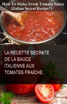 The secret recipe for fresh Italian tomato sauce . - The secret recipe for fresh Italian tomato sauce Tomate Mozzarella, Pizza Recipe Pillsbury, Mushroom Pizza Recipes, Wine Recipes, Cooking Recipes, Grilled Pizza Recipes, Italian Tomato Sauce, Spinach Pizza, Recipes