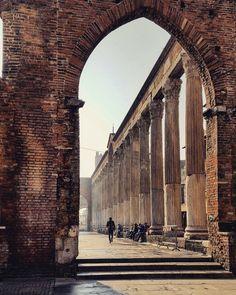 Colonne di San Lorenzo - Milano - Italy
