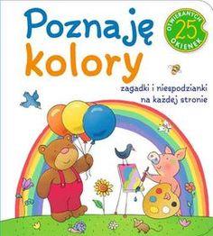 Poznaję kolory. 25 okienek-Cichy Ludwik