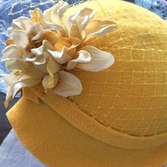 Milliner: Julie Rodriguez believes that wearing a hat makes people feel confident! #millinery #hatacademy