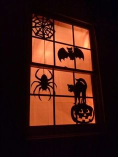 $3.00 Halloween decoration DIY or you could just cut it out of card stock!