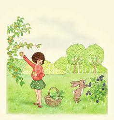 Garden theme picture