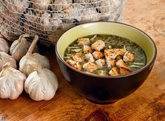 Czech garlic soup - the best cure for a hangover. | House Recipes