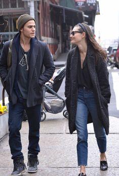 Paul Wesley and Phoebe Tonkin