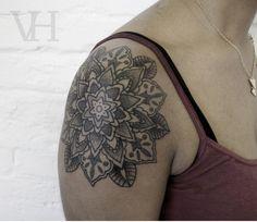 mandala - Valentin hirsch #Tatto #Tattos #Ink #Inked #tatuajes #tatuadores