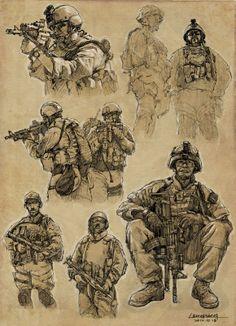Military Art Print                                                                                                                                                                                 Más