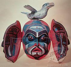 Kwakiutl: Revelation Mask Native American American Museum of Natural History