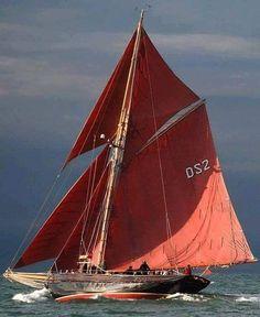 red sails - Salt Water, Roger McCallum