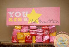 Starburst Valentine Printables   Peonies and Poppy Seeds: