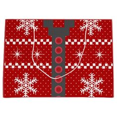Ugly Christmas Sweater Reversible Design Large Gift Bags, too cute! http://www.zazzle.com/ugly_christmas_sweater_reversible_design_large_bag-256699284714521249?rf=238575087705003771