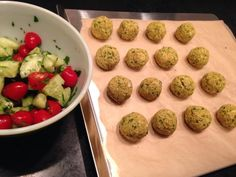 Print Baked Falafels Rate this recipe 1 2 3 4 5 4 ratings Prep Time: 20 minutes Cook Time: 45 minutes Ingredients 1-1/2 teas flax seed meal (see notes) 2 Tab cold water 2 15-oz cans of chickpeas - rinse…