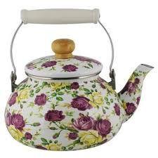 floral kettle