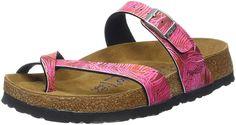 Birkenstock Women's Tabora Soft Cork Footbed Toe Ring Sandal * See this great image  : Birkenstock sandals