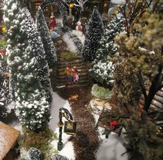 "Christmas Village 2010 of Connie de Groot:"" Welcome in my romantic snow village"""