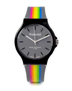 32a1adbbe4d4 Polaroid Gray Band Watch     Want additional info  Click on the image(It is  Amazon affiliate link).  WomenWatchesCollection