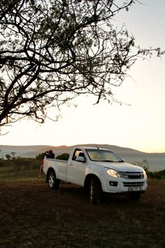Taking in the views at Somkhanda Game Reserve. See the August issue of SA4x4 Magazine for further details
