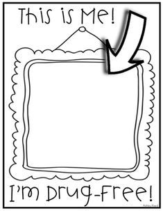 RED RIBBON week - coloring pages | Red ribbon week, Red ...