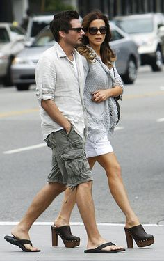 Kate Beckinsale in clogs