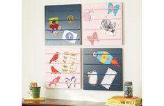 Creative ways to organize and display kids' artwork