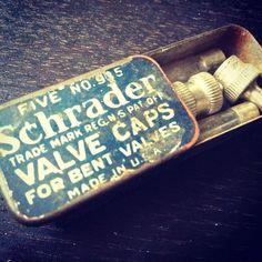 Vintage valve caps