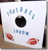 Super Bowl Party Game - Challenge your friends and family to a game of Football . - Super Bowl Party Game – Challenge your friends and family to a game of Football …, - Sports Theme Birthday, Football Birthday, Carnival Birthday Parties, Birthday Party Games, Birthday Ideas, 7th Birthday, Game Party, Super Bowl Party Games, Party Rules